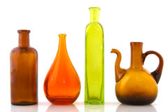 Glass objects Royalty Free Stock Image