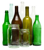 Glass objects Royalty Free Stock Images
