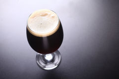 Glass Of Dark Beer Royalty Free Stock Photography