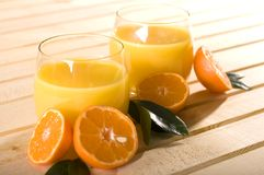 Glass Of Fresh Juice Royalty Free Stock Images