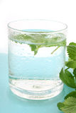 Glass Of Ice Water Stock Image