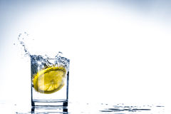 Free Glass Of Lemon Water Royalty Free Stock Photography - 84420717