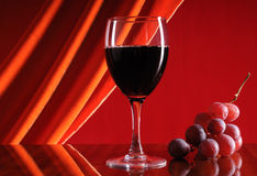 Free Glass Of Red Wine Stock Photos - 12359123