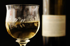 Free Glass Of Wine And Bottle Stock Photo - 25235780