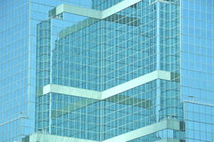 Glass office block abstract Stock Image