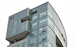 Glass office building. Royalty Free Stock Images
