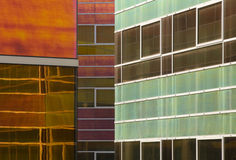 Glass office building 9 Royalty Free Stock Image