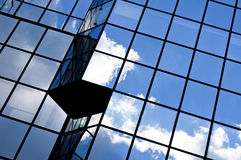 Glass office building. Stock Photos