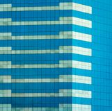 Glass office window Royalty Free Stock Photography