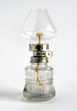 Glass Oil lamp Royalty Free Stock Image