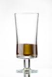Glass with olive oil Royalty Free Stock Photos