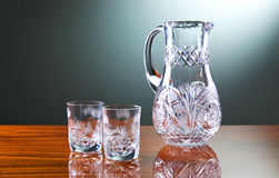 Glass On The Table Royalty Free Stock Photography