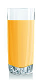 Glass of orange juice Stock Image