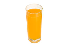A glass of orange juice Stock Images