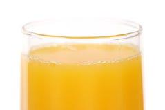 Glass of orange juice Stock Photo