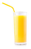 Glass of orange juice Royalty Free Stock Photos