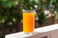 Glass of of orange juice Royalty Free Stock Photography