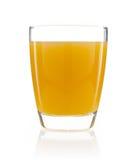 Glass of orange juice isolated. On white Royalty Free Stock Photography