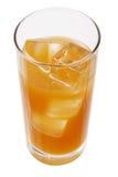 Glass of Orange Juice Stock Images
