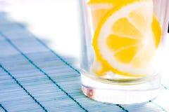 Glass of orange soda Royalty Free Stock Photos