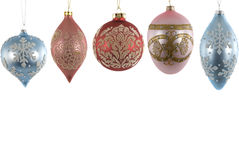 Glass Ornaments Royalty Free Stock Photo