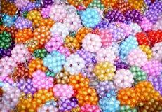Glass pärlor Royaltyfri Bild