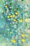 Glass painting Stock Photo