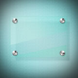 Glass Panel Board Stock Image