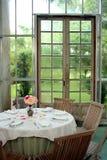 Glass Panel Door Stock Image