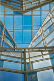 Glass panel roof Royalty Free Stock Photos