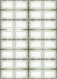 Glass panels Royalty Free Stock Images