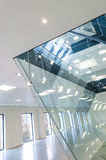Glass panels Royalty Free Stock Image