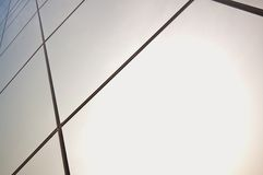 Glass panels  Royalty Free Stock Photo