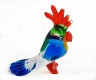 glass papegojaprofil Royaltyfria Bilder
