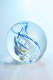 Glass Paperweight Stock Photo