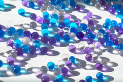 Glass pearls Stock Photo