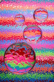 Glass Pebbles & Bright Colors Stock Photo