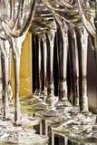 glass pelare Fotografering för Bildbyråer