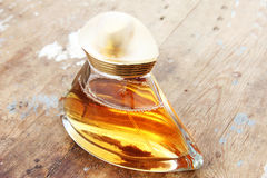 Glass perfume bottle Stock Photo