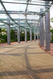 Glass pillar Royalty Free Stock Photography