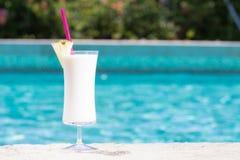 Glass of Pina Colada Royalty Free Stock Image