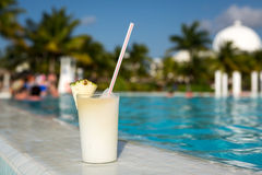 Glass of Pinacolada Royalty Free Stock Photography