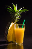 A glass of Pineapple juice Stock Photography