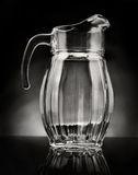 Glass pitcher Royalty Free Stock Photography