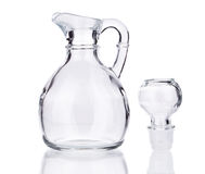 Glass Pitcher Stock Photo