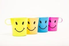 Glass, plastic smile Royalty Free Stock Photos