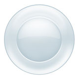 Glass plate Stock Image