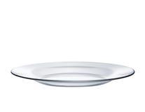 Glass platta royaltyfria foton