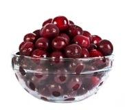 glass platta för Cherry Royaltyfri Bild