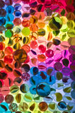 Glass play marbles Stock Photography